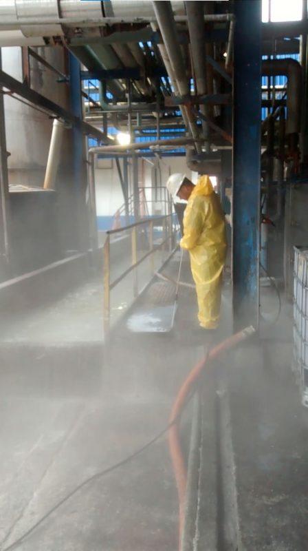 hidrojateamento para as indústrias